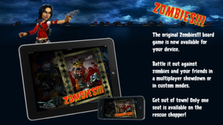 Zombies !!! ® Board Game screenshot 1