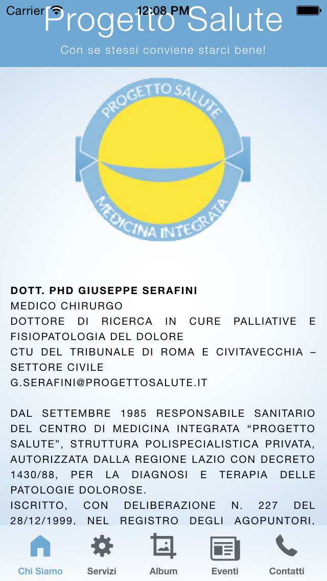 Progetto Salute screenshot 5