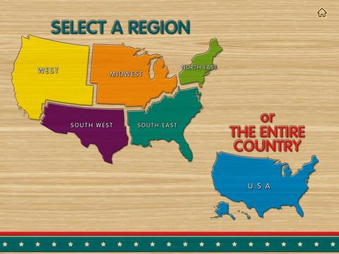USA Map - Easy Learn screenshot 2