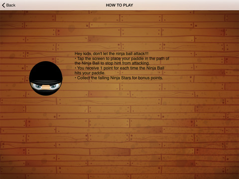 A1 Ninja Kid Ball Attack screenshot 5