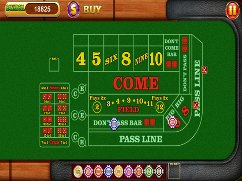 `7-11 - Las Vegas Casino Craps Dice Free screenshot 5