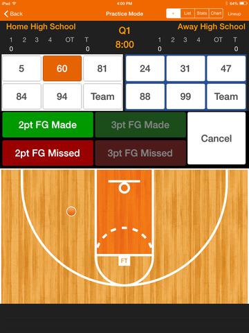 DS Basketball - náhled