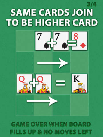 2048 Ace the Cards Puzzle screenshot 7