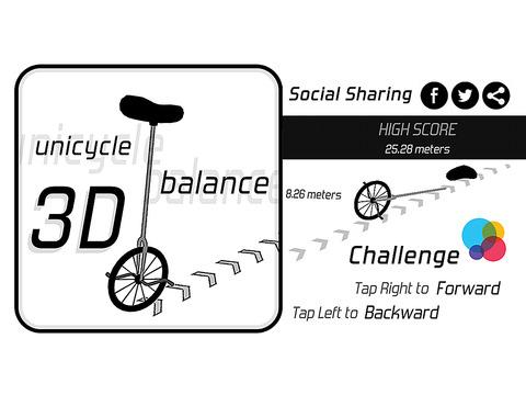 Unicycle Balance 3D screenshot 6