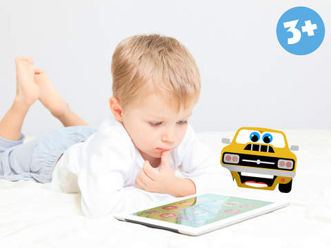 His first little Cars Jigsaw Puzzle Game for toddlers and preschoolers Free screenshot 10