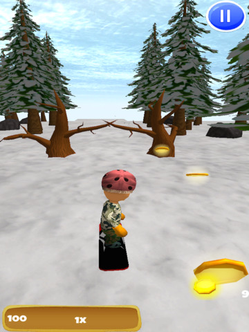 A Freestyle Snowboarder: Extreme 3D Snowboarding Game - Pro Edition screenshot 6