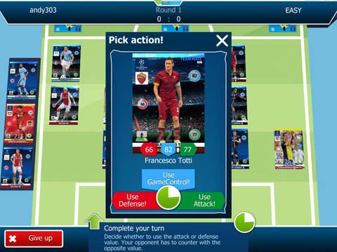 AdrenalynXL™ UEFA CHAMPIONS LEAGUE® 2014-2015 screenshot #2