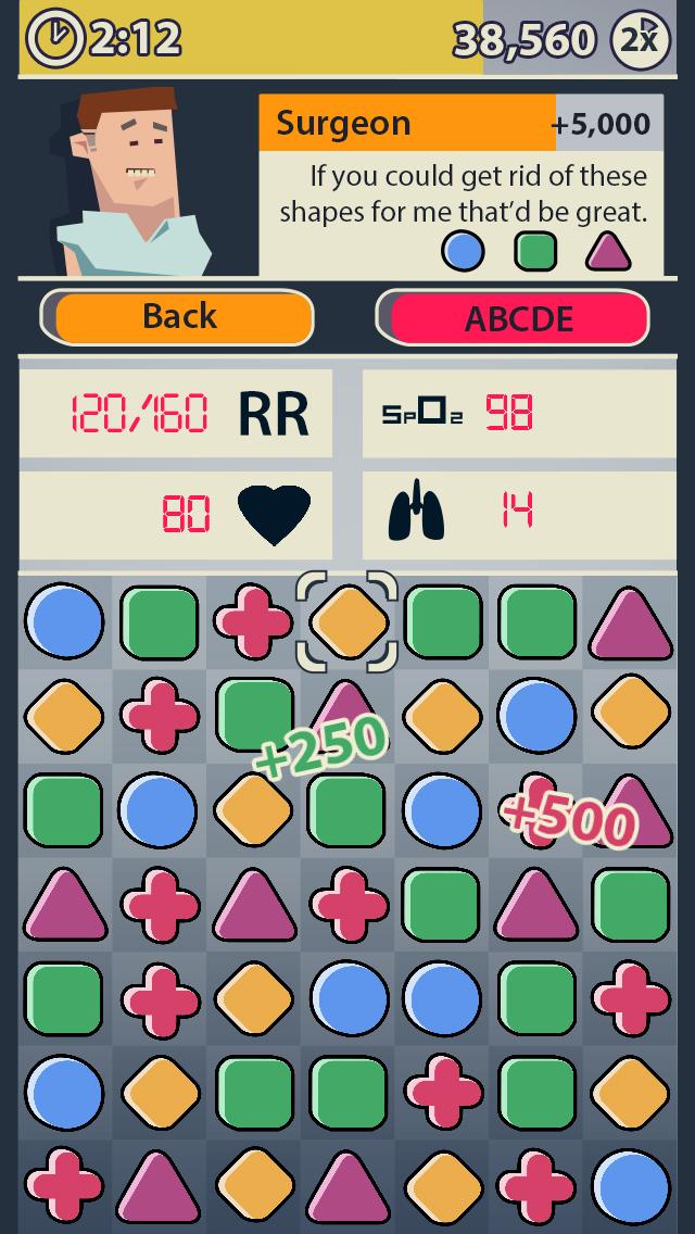 Dr. Game Surgeon Trouble screenshot 2