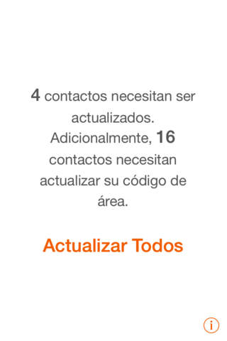 Actualizar Contactos Chile - náhled