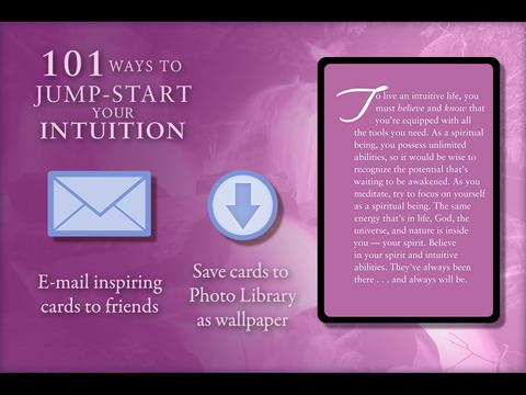 101 Ways to Jump Start Your Intuition - John Holland screenshot 8