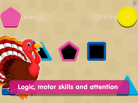 Shapes! Toddler Kids Games,Baby Boys Learning Free screenshot 6
