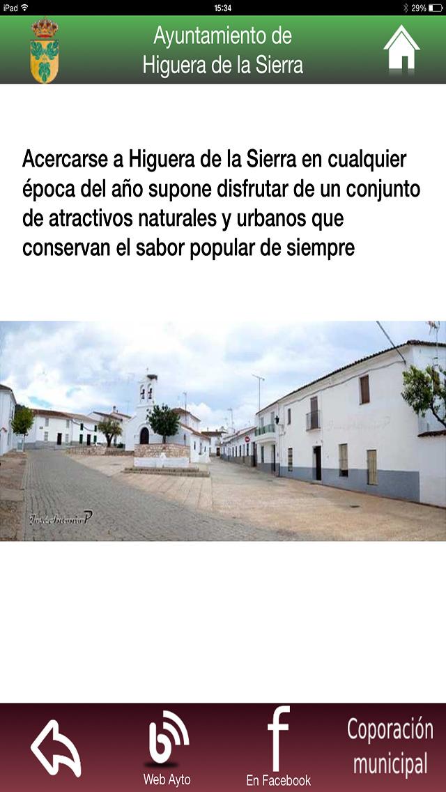 Higuera de la Sierra - Servicios e Información screenshot 3