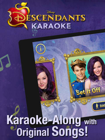 Disney Karaoke: Descendants screenshot 6