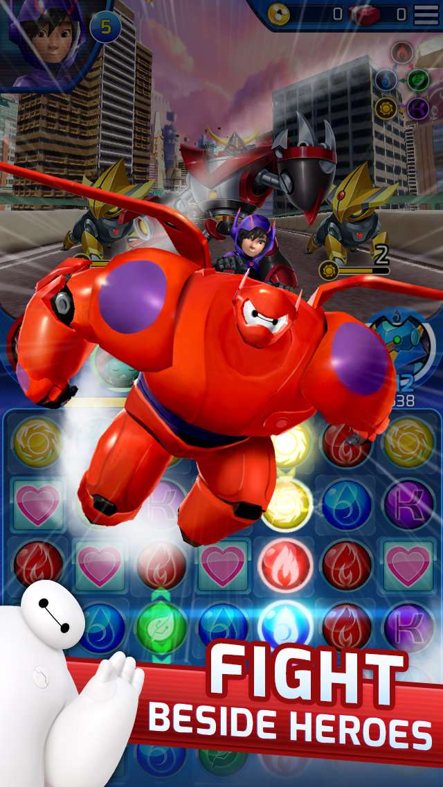 Big Hero 6 Bot Fight screenshot 1