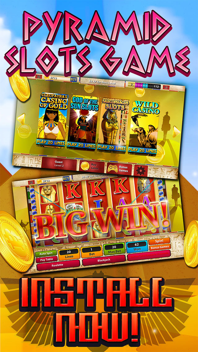 """ A Ace Casino – Pyramids Way FREE Slots screenshot 1"