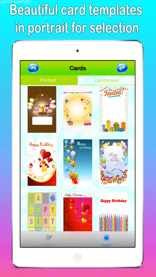 Happy Birthday Card Maker App screenshot 1