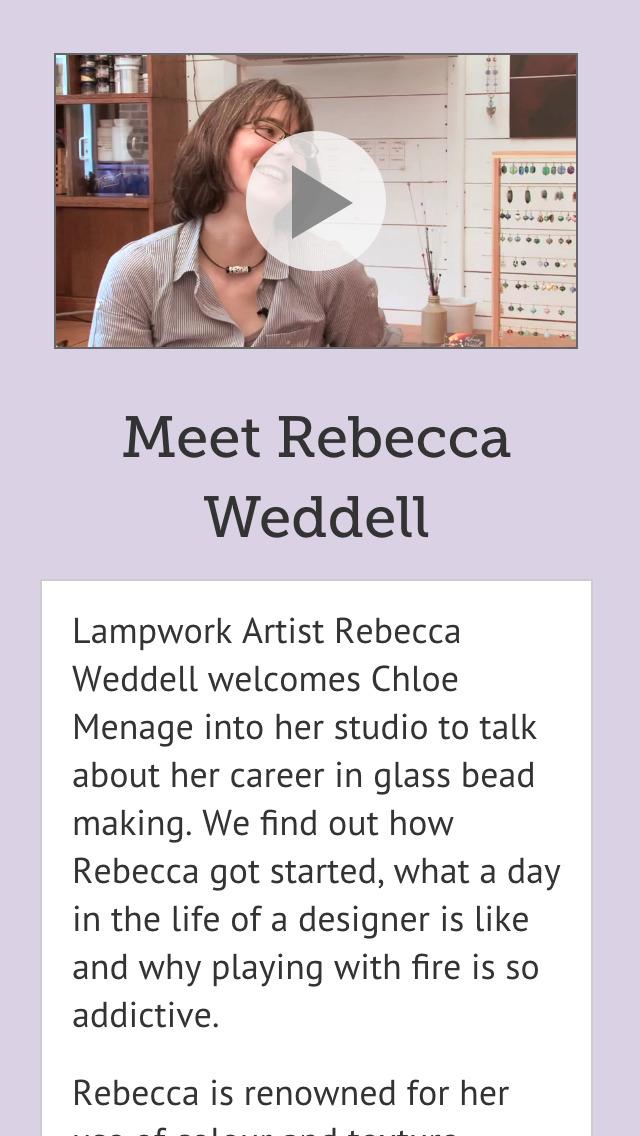 Lessons in Lampwork screenshot 3