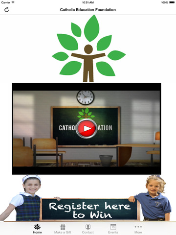 Catholic Education Foundation screenshot 5