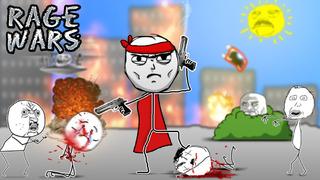 Rage Wars - Meme Shooter screenshot 1