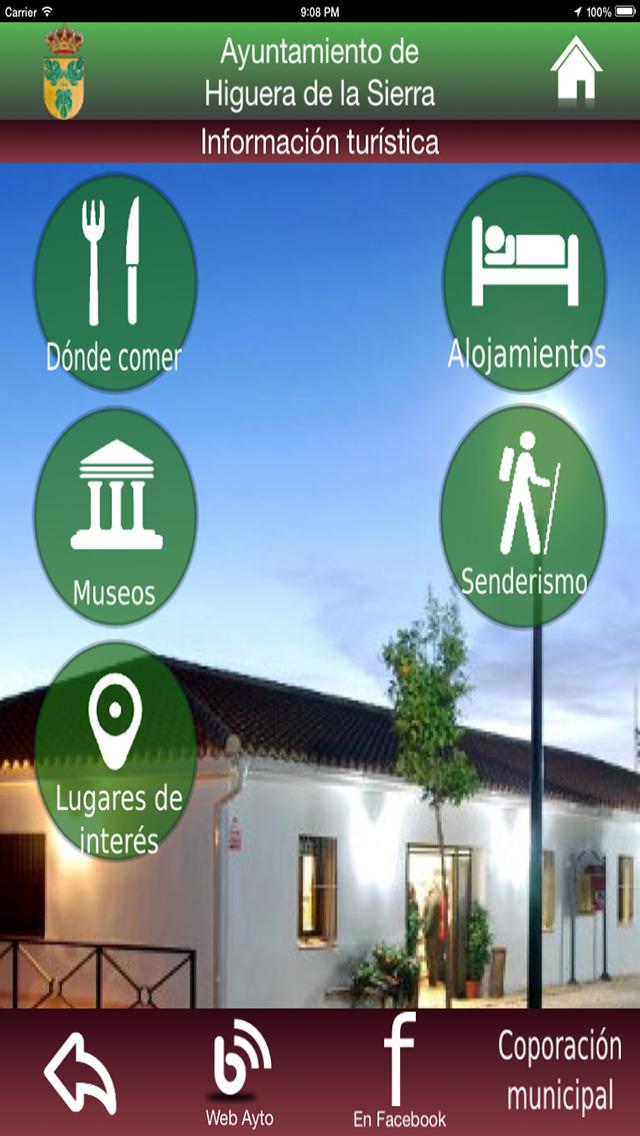 Higuera de la Sierra - Servicios e Información screenshot 4