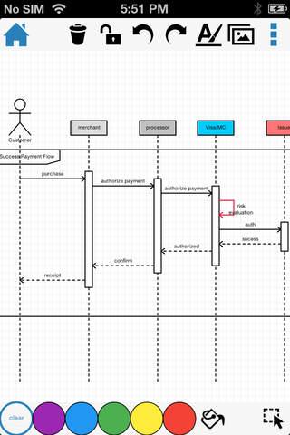 DrawExpress Diagram Lite - náhled