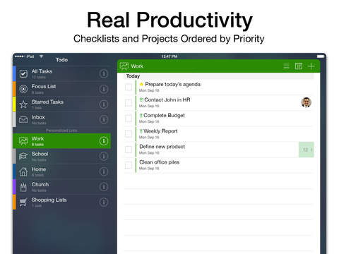 Todo - ToDo & Task List screenshot 7