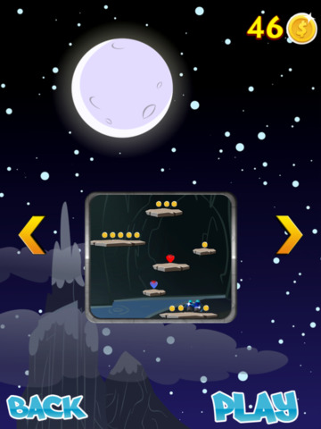 A Slenderman Sky Jump Mania Free screenshot 7
