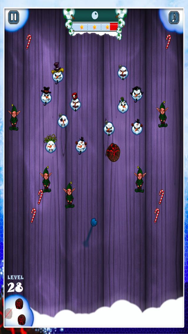 Snowman Shot - Free Fire Ball Shooter Arcade Game screenshot 3