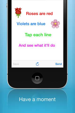 Tapp Messenger - náhled