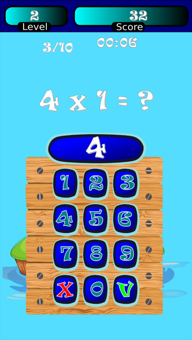 Times Tables Math Trainer UN screenshot 1