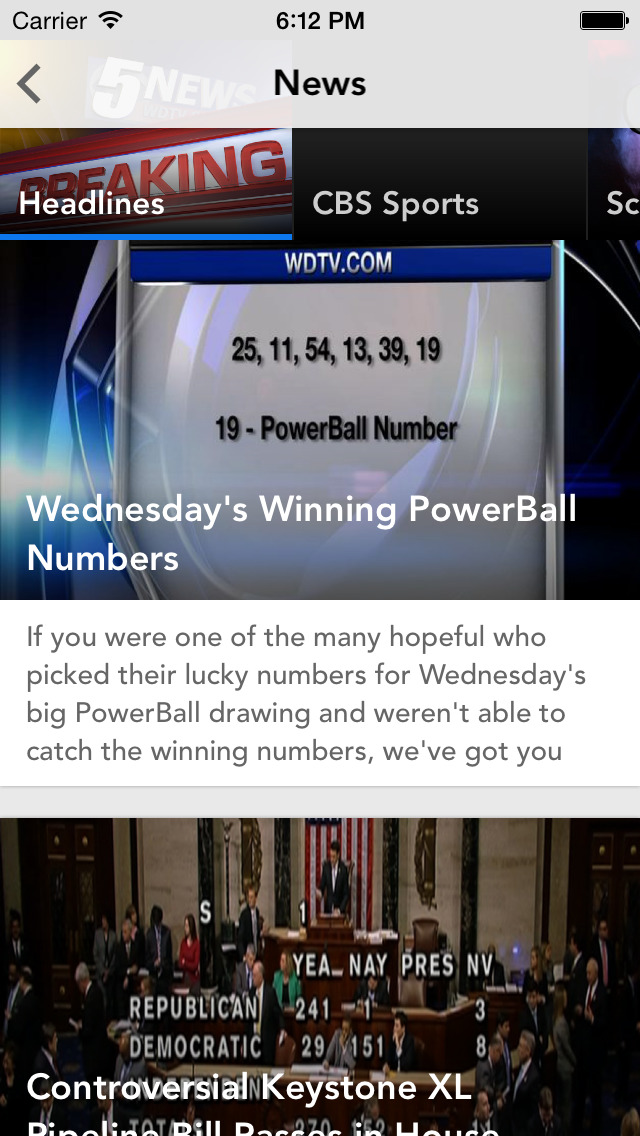 5 News WV's news source screenshot 2