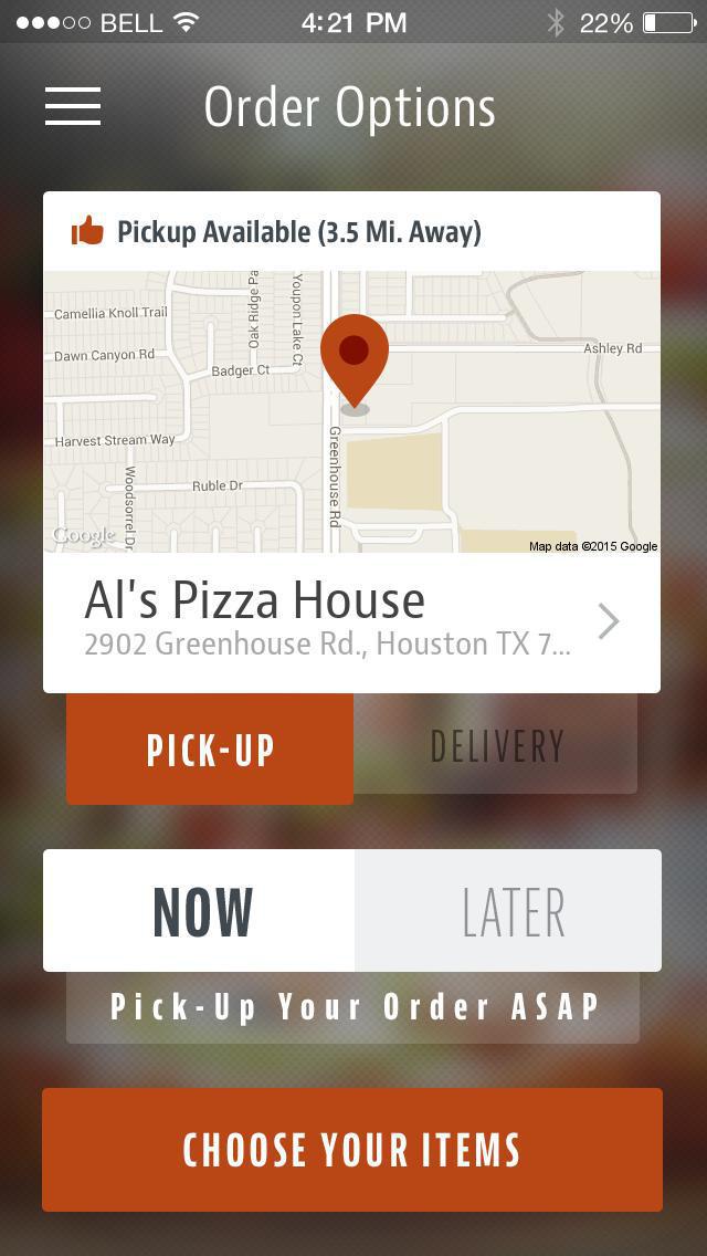 Al's Pizza House screenshot 2