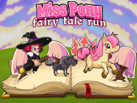 Amazing Miss Pony: Princess Fairy Tale Adventure Run Free by Top Crazy Games screenshot 6