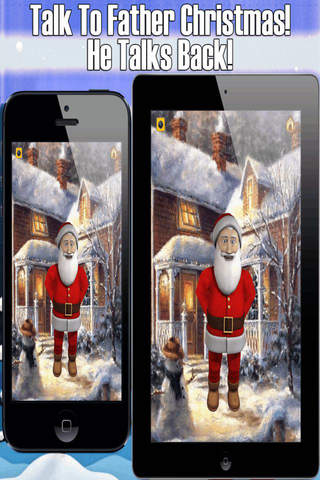 Tiny Talking Father Christmas - Festive Fun Editio - náhled