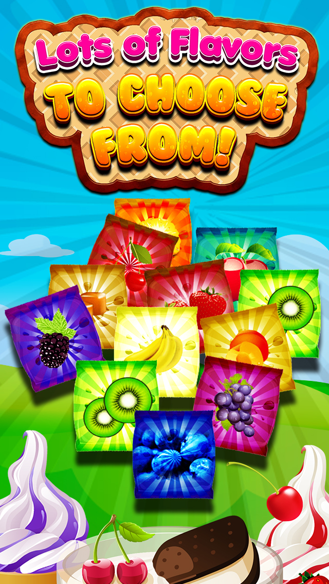 """ A Awesome Sauce Ice Cream Mogul Mania Dessert Maker for Kids! screenshot 5"