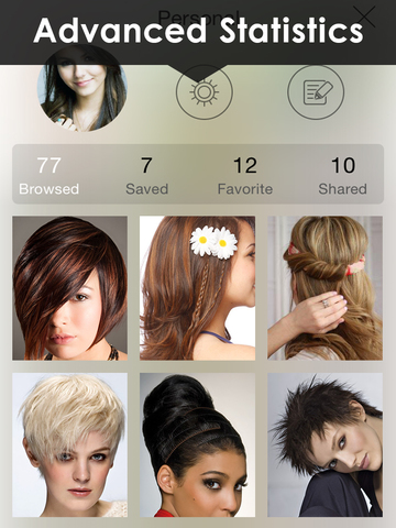 Womens Hairstyles Ideas - Girls Stylish Hair Cuts screenshot 8