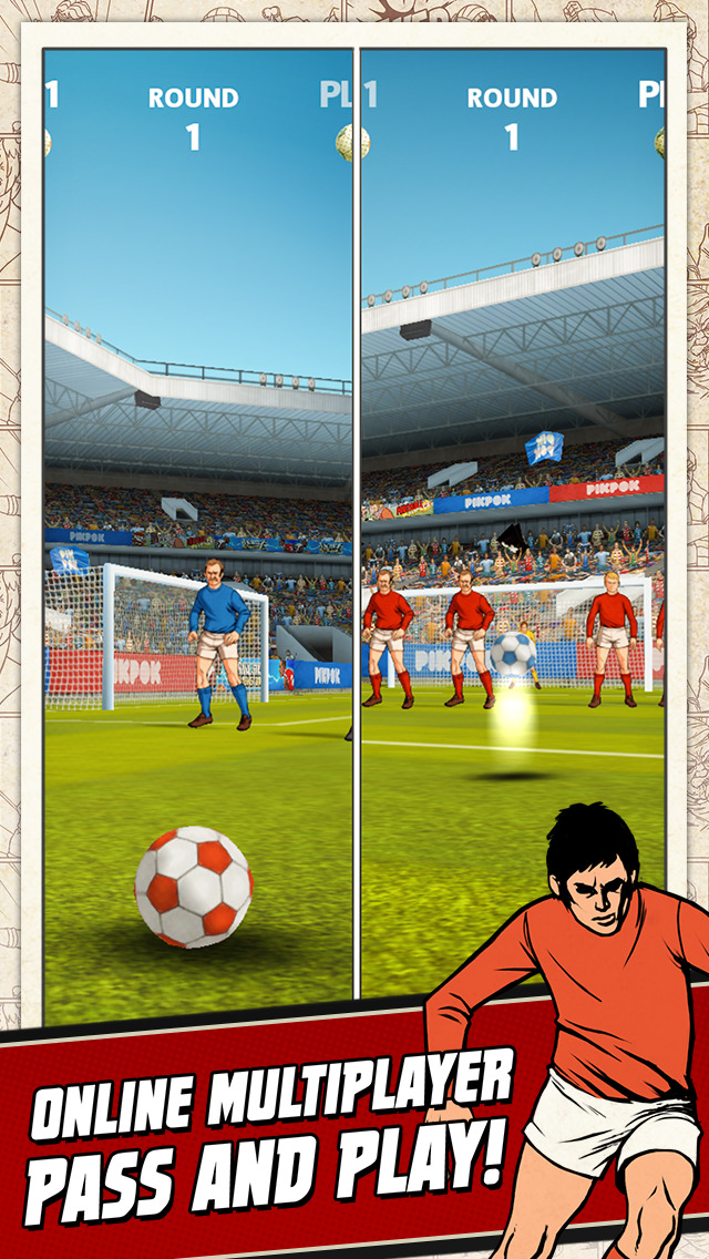 Flick Kick Football Kickoff screenshot #3