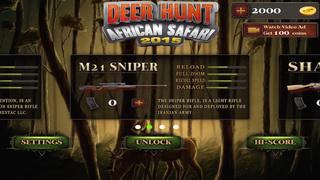 Deer Hunt African Safari 2015 screenshot 4