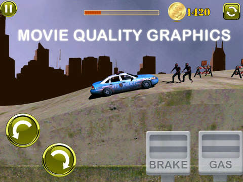 3D Earn Respect Evil Zombies Die - Go Monster Car Highway and Simulator Driving Offroad Race Chase Ad Free screenshot 8