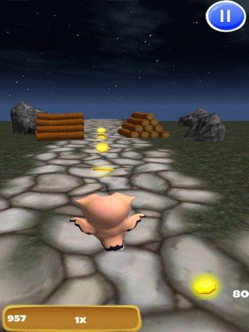 A Owl Run: 3D Bird Running Game - FREE Edition screenshot 8