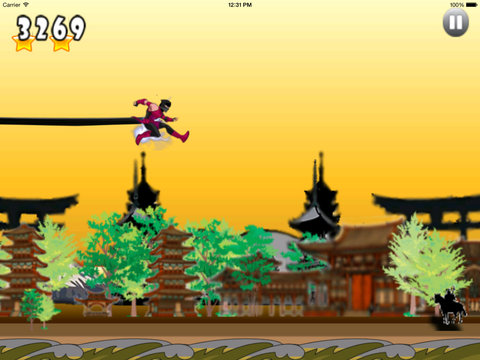 Amazing Robot Ninja Jumper Pro - Pirate Heroes Adventure screenshot 7
