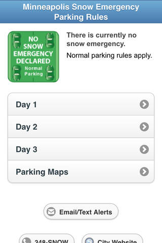 Minneapolis Snow Emergency Parking Rules - náhled