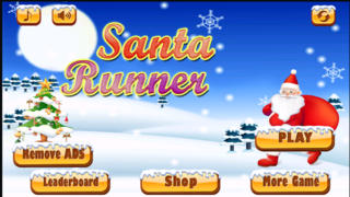 Santa Run Free - Jolly Runner on Xmas screenshot 1