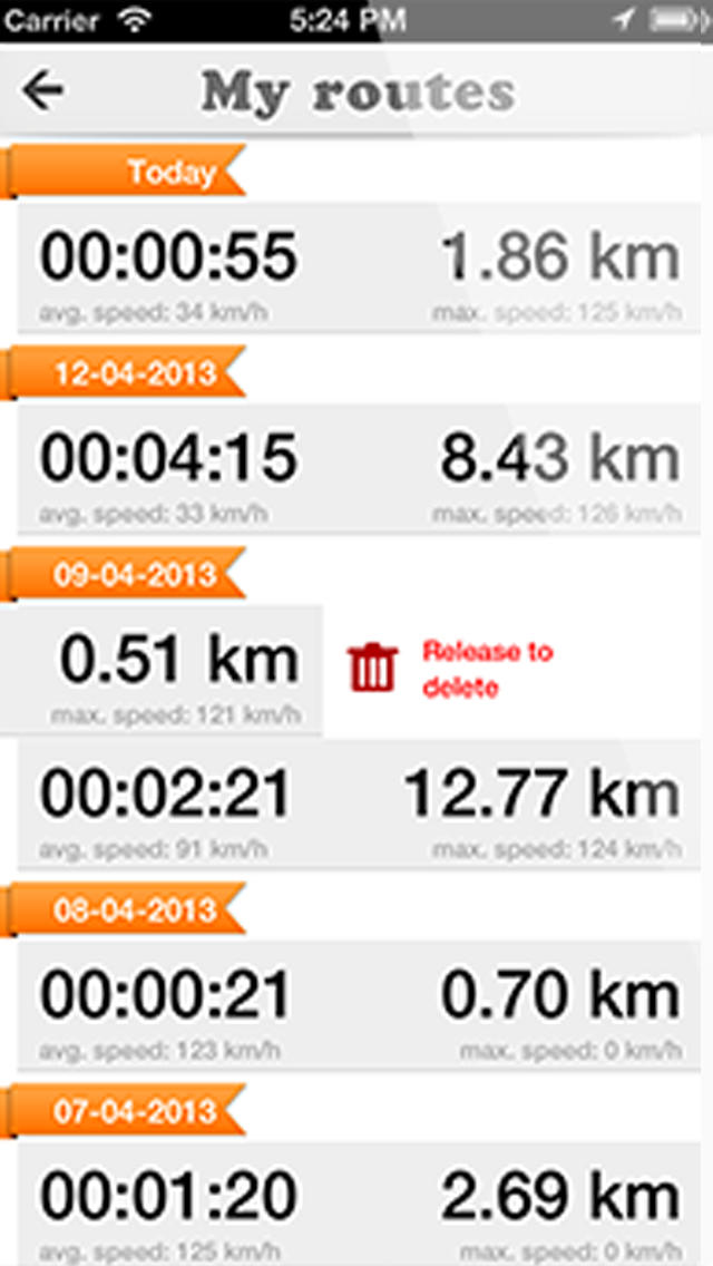 Route Tracker: GPS Locator for Walk, Run, Cycle and Drive screenshot 4