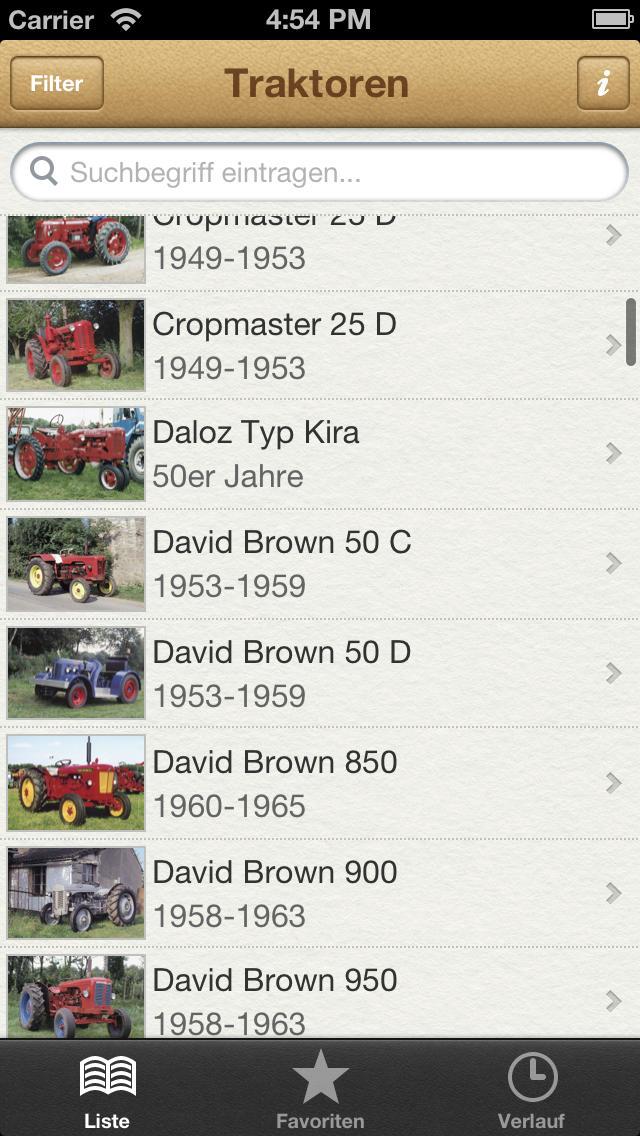 1000 Traktoren aus aller Welt screenshot 1