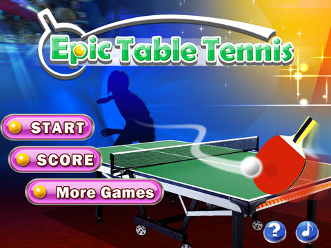 Epic Table Tennis Free - Virtual Ping Pong screenshot 3