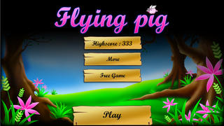 Kill the Flying Pigs - Funny shooting and hunting arcades game screenshot 3