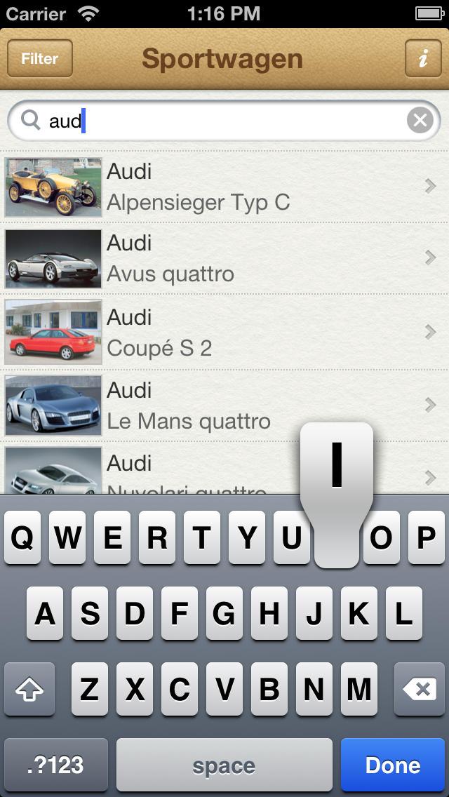 1000 Sportwagen aus aller Welt screenshot 4