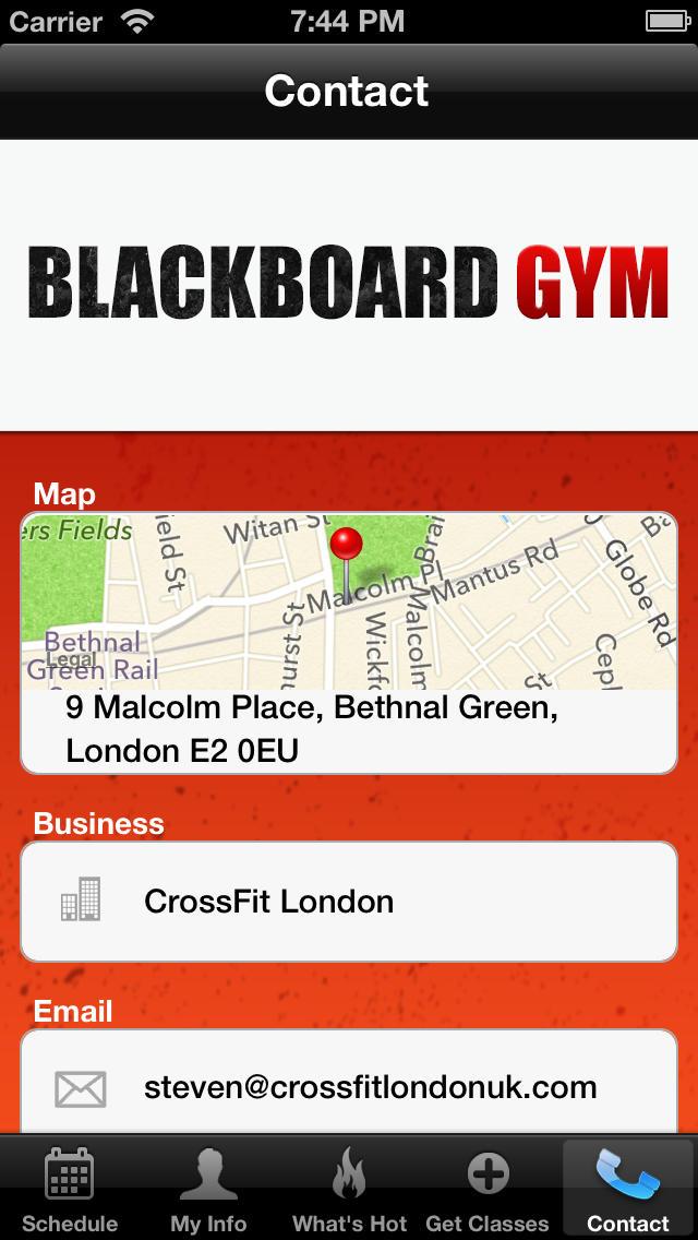Blackboard Gym screenshot #4