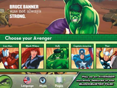Avengers Origins: Hulk screenshot #2